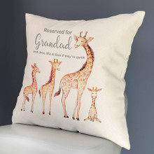 Reserved for... Giraffe Cushion Cover