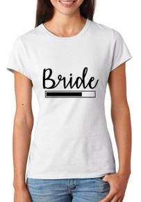 Bride Loading T-shirt