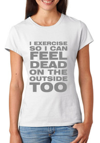 I Exercise So I... T-Shirt or Vest