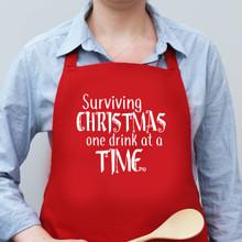 Surviving Christmas Apron