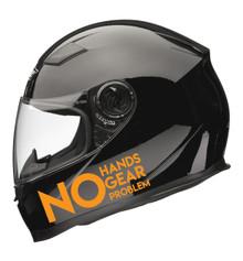 No Hands, No Gear, No Problem Decal