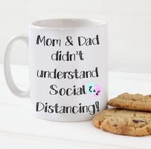 L & E Social Distancing Mug