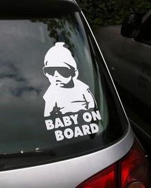 Baby on Board Car Sticker