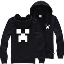 Minecraft Zip Up Hoodie ADULTS