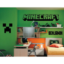 Minecraft with Name