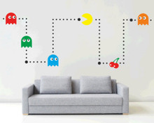 Pacman Decal Kit