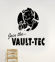 Join the Vault-Tec Decal
