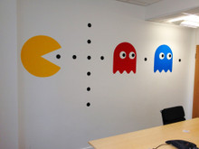 Pac Man Decal