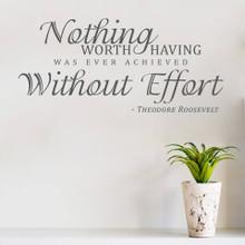Nothing Worth Having...