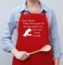 Dear Santa Apron