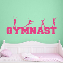 Gymnast Decal