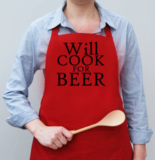 Will Cook For... Apron