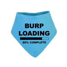 Burp Loading Bandana Bib