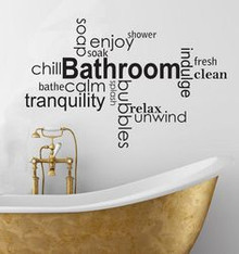 Bathroom Wall Sticker