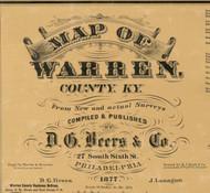 Title of Source Map - Warren Co., Kentucky 1877 - NOT FOR SALE - Warren Co.