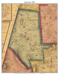 Egremont, Massachusetts 1858 Old Town Map Custom Print - Berkshire Co.