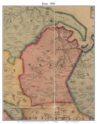 Essex, Massachusetts 1856 Old Town Map Custom Print - Essex Co.