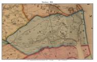 Newbury, Massachusetts 1856 Old Town Map Custom Print - Essex Co.