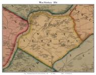 West Newbury, Massachusetts 1856 Old Town Map Custom Print - Essex Co.