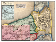 Orleans Poster Map, 1858 Barnstable Co. MA
