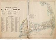 Barnstable County, Massachusetts 1910 - County Atlas