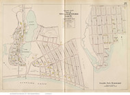 Craigville & Seaside Park - Barnstable, Massachusetts 1910 Old Town Map Reprint - Barnstable Co.