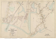 Hyannis & Centreville - Barnstable, Massachusetts 1910 Old Town Map Reprint - Barnstable Co.
