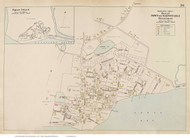 Hyannisport - Barnstable, Massachusetts 1910 Old Town Map Reprint - Barnstable Co.