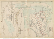 Town of Chatham, South Chatham & West Chatham, Massachusetts 1910 Old Town Map Reprint - Barnstable Co.