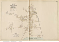 Dennisport & South Village - Dennis, Massachusetts 1910 Old Town Map Reprint - Barnstable Co.