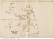 Dennisport & South Village - Dennis, Massachusetts 1910 Old Town Map Reprint - Barnstable Co.