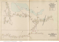 South Dennis & East Brewster, Massachusetts 1910 Old Town Map Reprint - Barnstable Co.