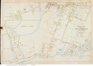 Fresh Pond Area - Falmouth, Massachusetts 1910 Old Town Map Reprint - Barnstable Co.