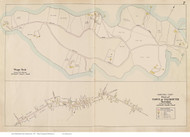 Teaticket & Wings Neck - Falmouth, Massachusetts 1910 Old Town Map Reprint - Barnstable Co.