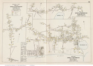North Harwich, South Harwich & Harwichport, Massachusetts 1910 Old Town Map Reprint - Barnstable Co.