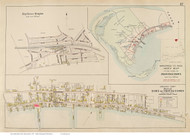 Town of Provincetown, Mayflower Heights & Eastern Provincetown Village, Massachusetts 1910 Old Town Map Reprint - Barnstable Co.