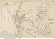 Wellfleet Village, Pleasant Point & Prospect Hill, Massachusetts 1910 Old Town Map Reprint - Barnstable Co.