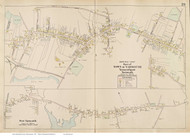 Yarmouthport, Yarmouth Village & West Yarmouth, Massachusetts 1910 Old Town Map Reprint - Barnstable Co.