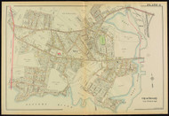 Plate 4, Beverly - parts of Wards 1 and 3, 1919 - Old Street Map Reprint - Essex Co.