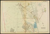 Plate 5, Beverly - parts of Wards 1 and 5, 1919 - Old Street Map Reprint - Essex Co.