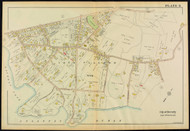Plate 8, Beverly - part of Ward 4, 1919 - Old Street Map Reprint - Essex Co.