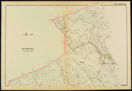 Plate 13, Beverly - part of Ward 6, 1919 - Old Street Map Reprint - Essex Co.