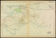 Plate 15, Manchester Harbor - West, 1919 - Old Street Map Reprint - Essex Co.