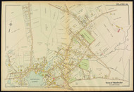Plate 16, Manchster Village, 1919 - Old Street Map Reprint - Essex Co.