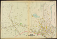 Plate 19, Magnolia - City of Gloucester Ward 8, 1919 - Old Street Map Reprint - Essex Co.