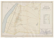 Longmeadow, Massachusetts 1894 Old Town Map Reprint - Hampden Co.