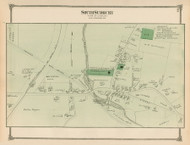 South Sudbury, Massachusetts 1875 Old Town Map Reprint - Middlesex Co.