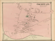 Cochituate - Wayland, Massachusetts 1875 Old Town Map Reprint - Middlesex Co.