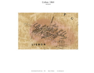 Libon Village (4th District), Maryland 1860 Old Town Map Custom Print - Howard Co.