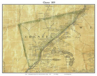 Chester, Maine 1859 Old Town Map Custom Print - Penobscot Co.